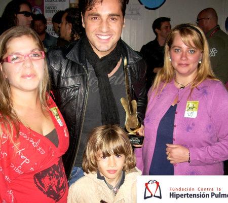 David Bustamante Con Dani, Patri Y Elena