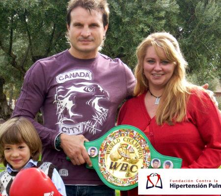 Javier Castillejo Con Dani Y Elena
