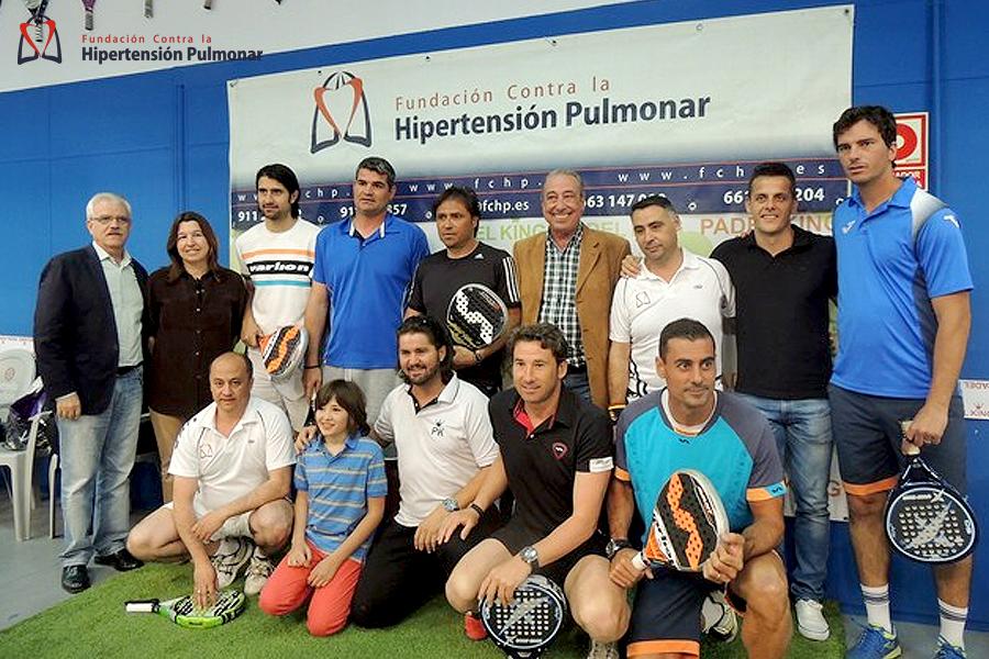 Torneo Padel. Hipertensión Pulmonar