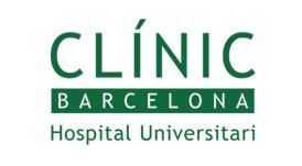 Logotipo hospital clinic