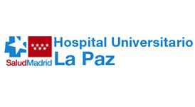 Logotipo hospital la paz