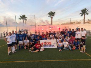 Partido De Fútbol Benéfico En Cantillana (Sevilla) Para La FCHP