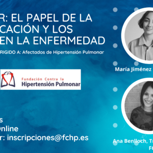 WEBINAR: EL PAPEL DE LA COMUNICACIÓN Y LOS LÍMITES DE LA ENFERMEDAD.