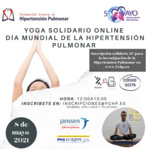 Yoga Solidario Por El Día Mundial De La Hipertensión Pulmonar