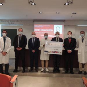La Fundación Contra La Hipertensión Pulmonar Entrega Una Donación De Fondos Para La Investigación En Genética De La Hipertensión Pulmonar.
